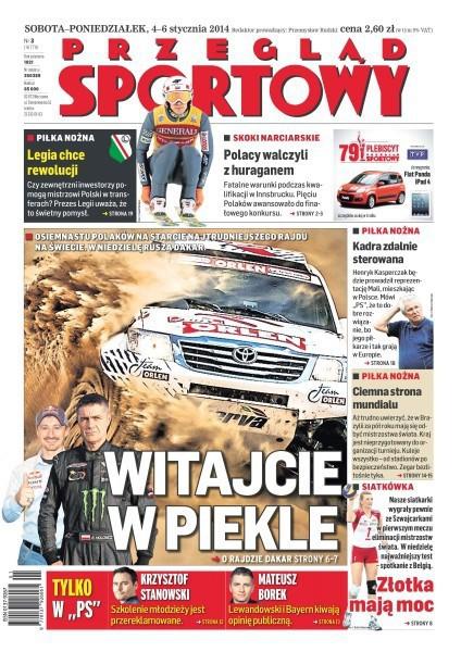 Przegląd Sportowy -                     2014-01-04
