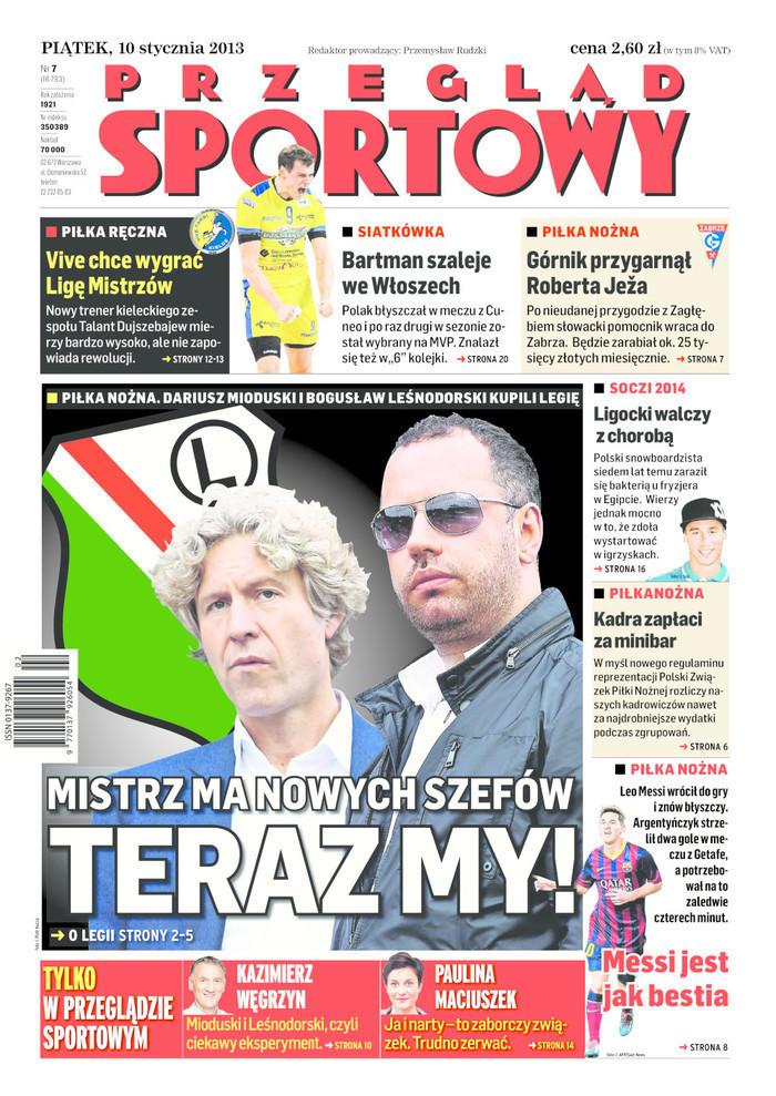 Przegląd Sportowy -                     2014-01-10