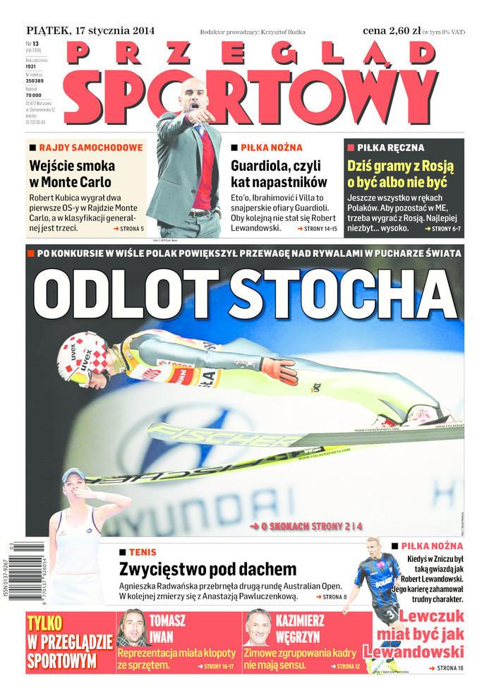 Przegląd Sportowy -                     2014-01-17