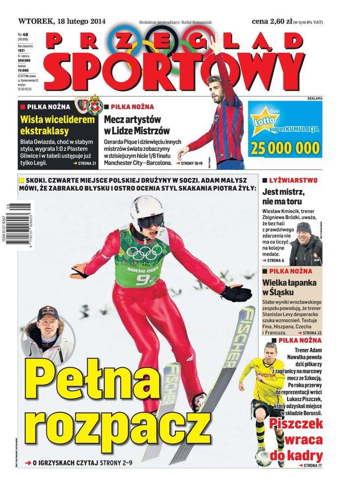 Przegląd Sportowy -                     2014-02-18