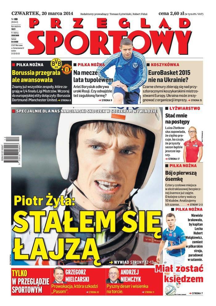 Przegląd Sportowy -                     2014-03-20
