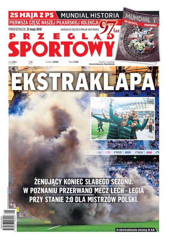 Przegląd Sportowy -                     2018-05-21