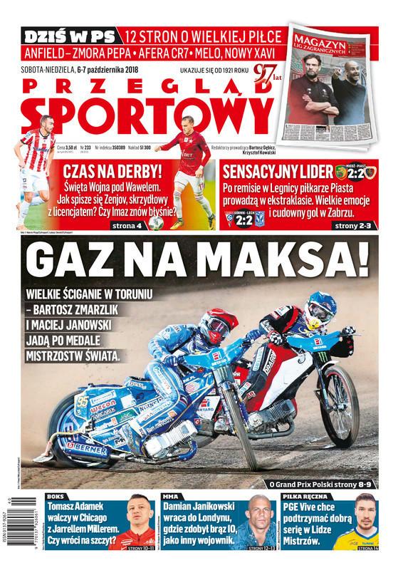 Przegląd Sportowy -                     2018-10-06