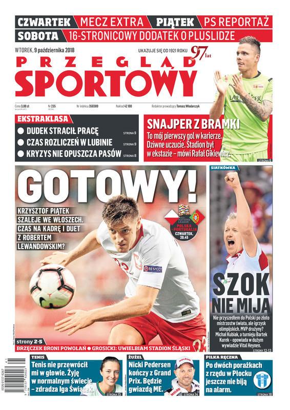 Przegląd Sportowy -                     2018-10-09