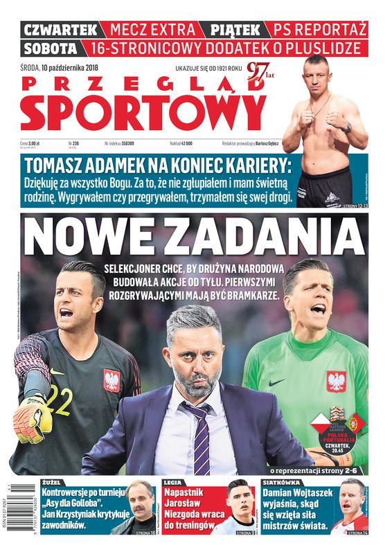 Przegląd Sportowy -                     2018-10-10