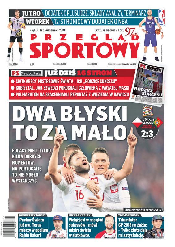 Przegląd Sportowy -                     2018-10-12