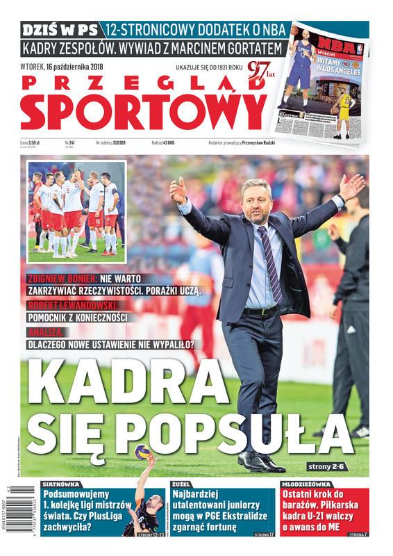Przegląd Sportowy -                     2018-10-16
