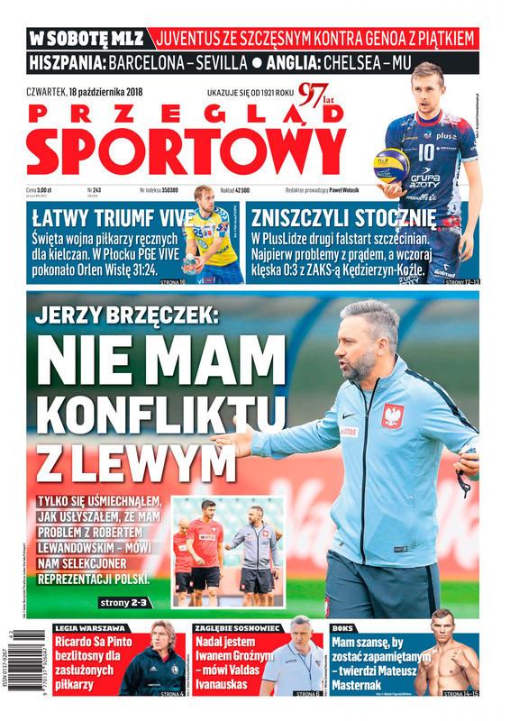 Przegląd Sportowy -                     2018-10-18