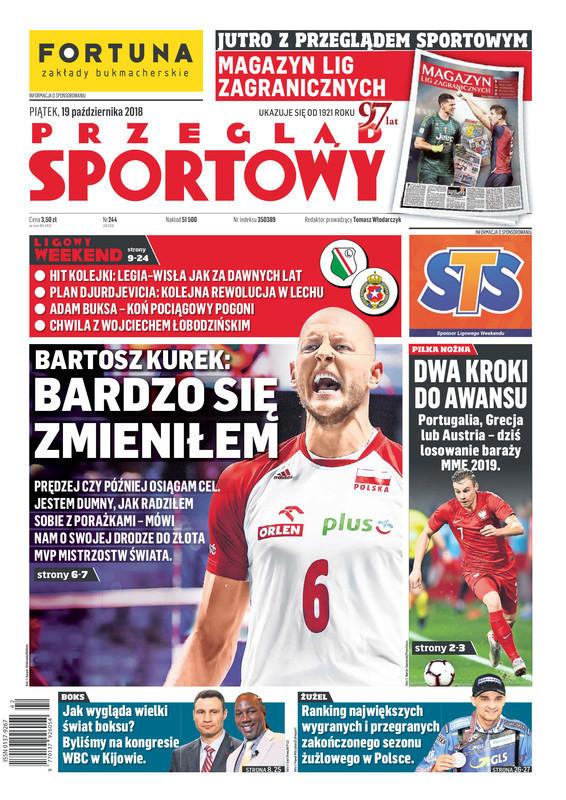 Przegląd Sportowy -                     2018-10-19