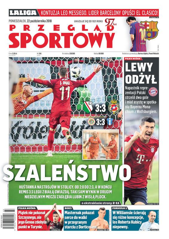 Przegląd Sportowy -                     2018-10-22
