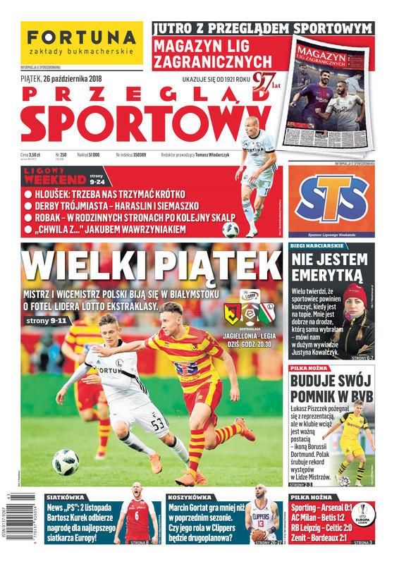 Przegląd Sportowy -                     2018-10-26