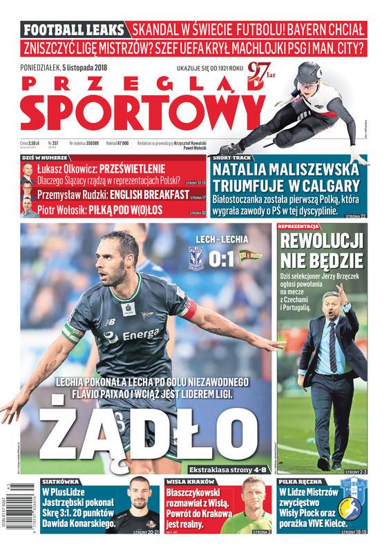 Przegląd Sportowy -                     2018-11-05