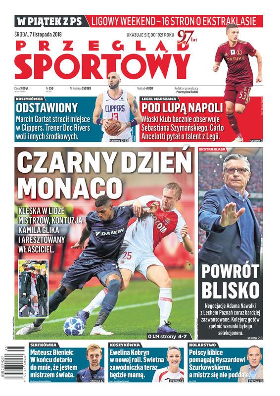 Przegląd Sportowy -                     2018-11-07