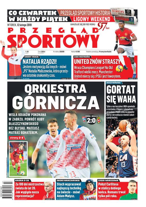 Przegląd Sportowy -                     2019-02-12