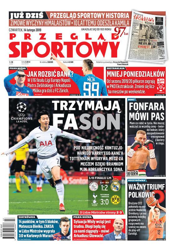 Przegląd Sportowy -                     2019-02-14