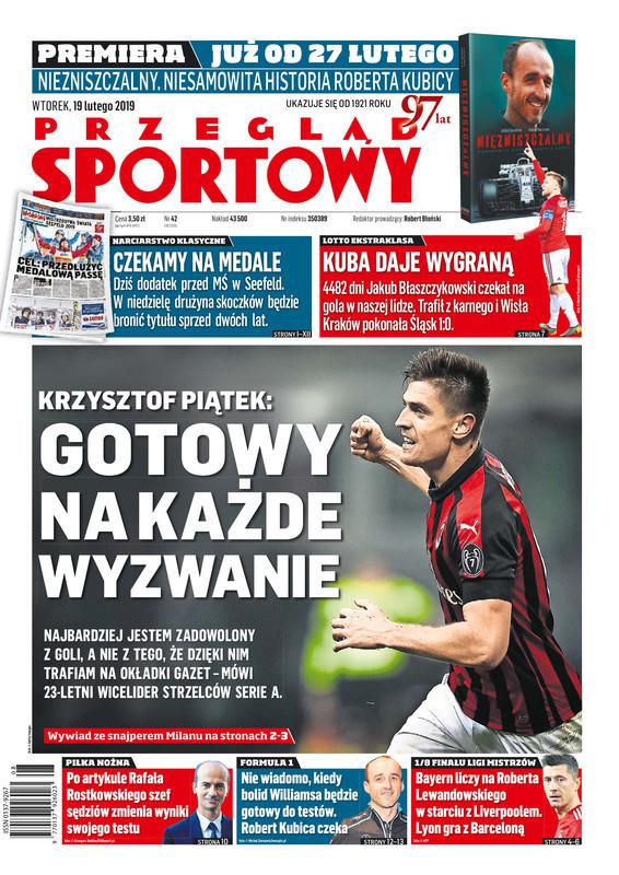 Przegląd Sportowy -                     2019-02-19