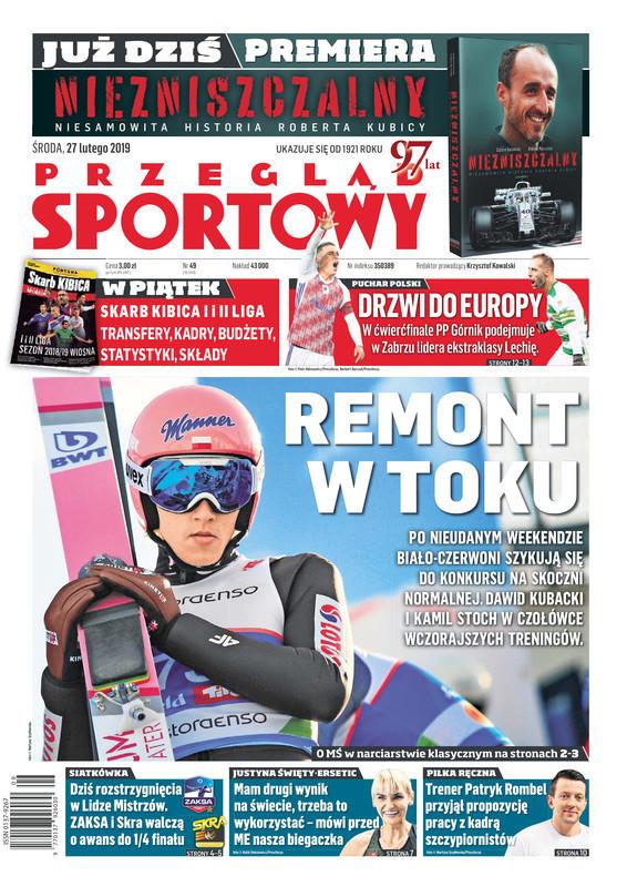 Przegląd Sportowy -                     2019-02-27