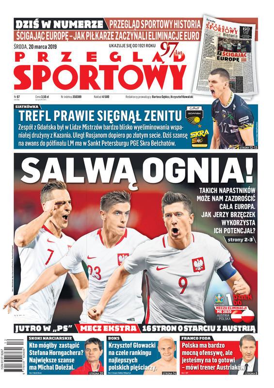 Przegląd Sportowy -                     2019-03-20