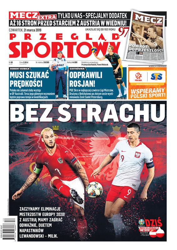 Przegląd Sportowy -                     2019-03-21