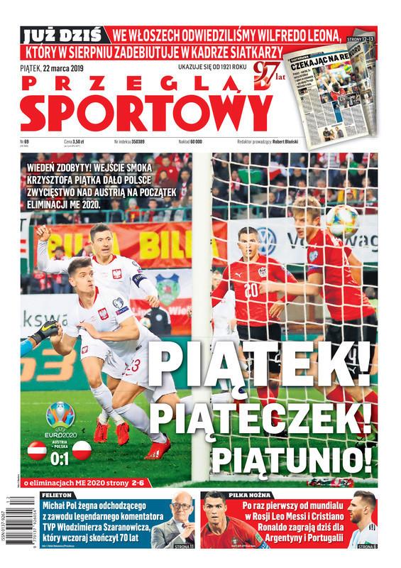 Przegląd Sportowy -                     2019-03-22