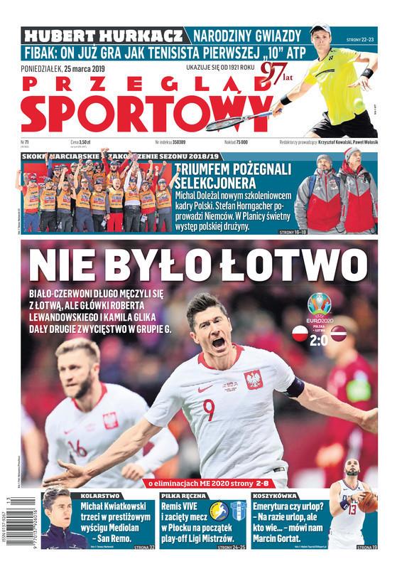 Przegląd Sportowy -                     2019-03-25