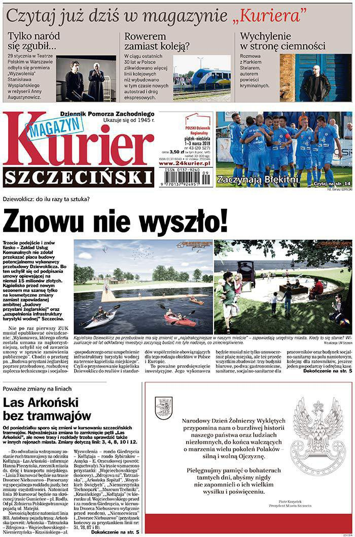 Kurier Szczeciński -                     2019-03-01