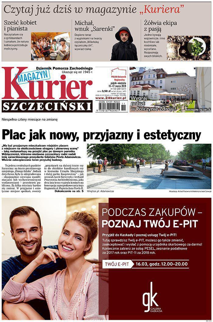 Kurier Szczeciński -                     2019-03-15