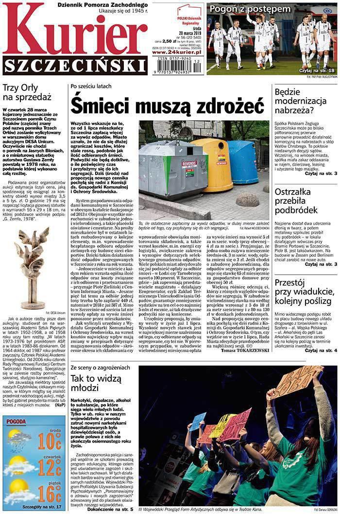 Kurier Szczeciński -                     2019-03-20