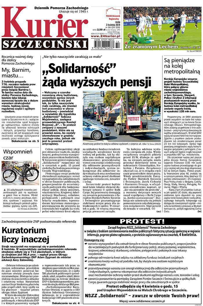 Kurier Szczeciński -                     2019-04-03
