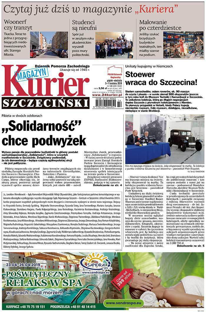 Kurier Szczeciński -                     2019-04-05
