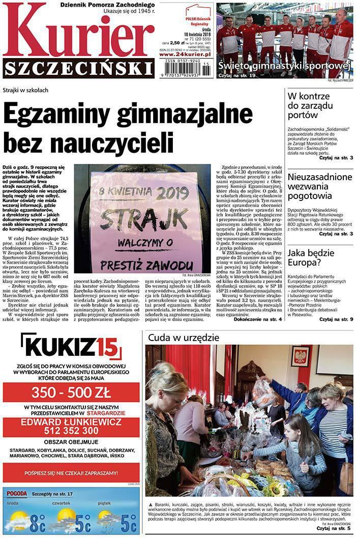 Kurier Szczeciński -                     2019-04-10