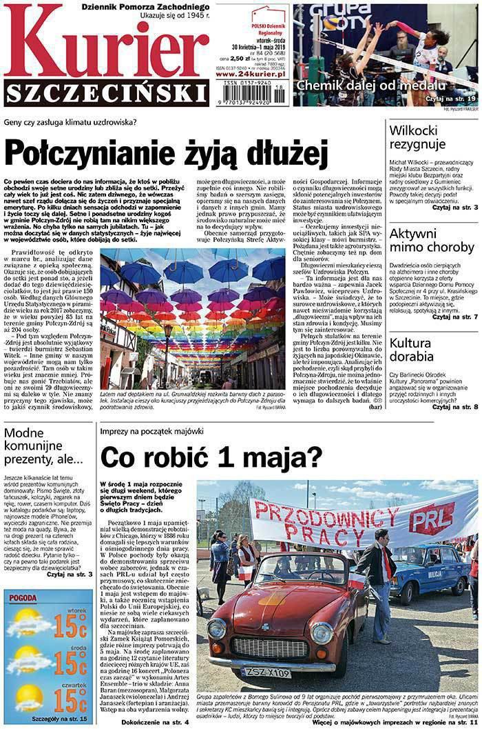 Kurier Szczeciński -                     2019-04-30