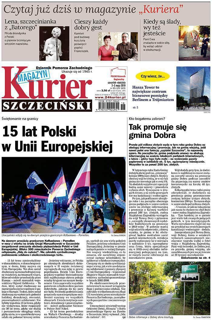 Kurier Szczeciński -                     2019-05-02