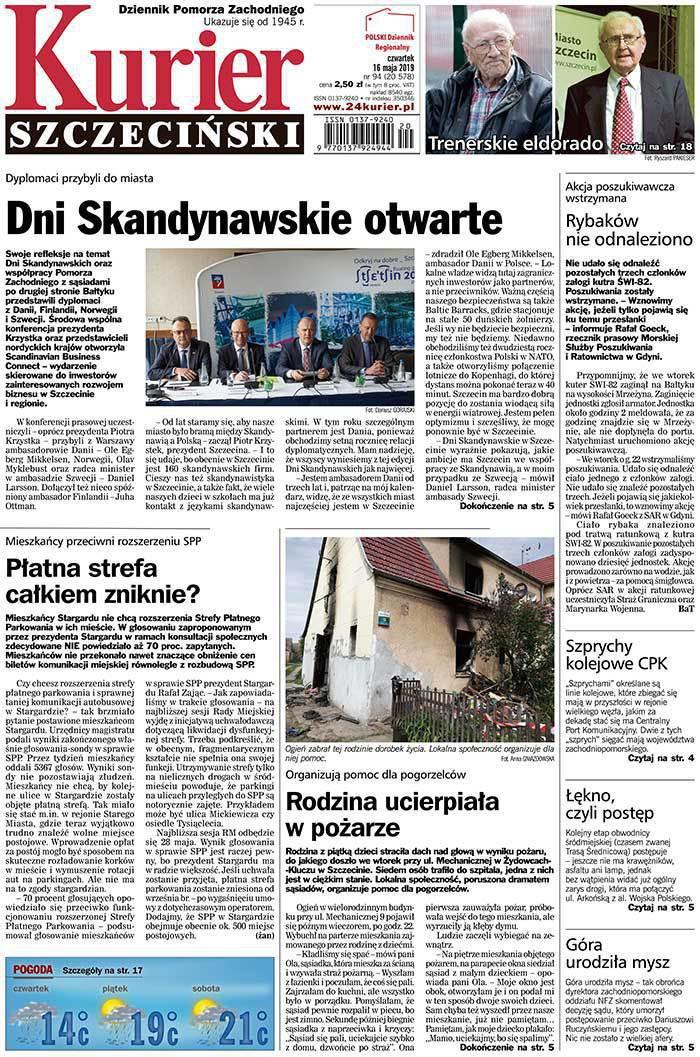 Kurier Szczeciński -                     2019-05-16