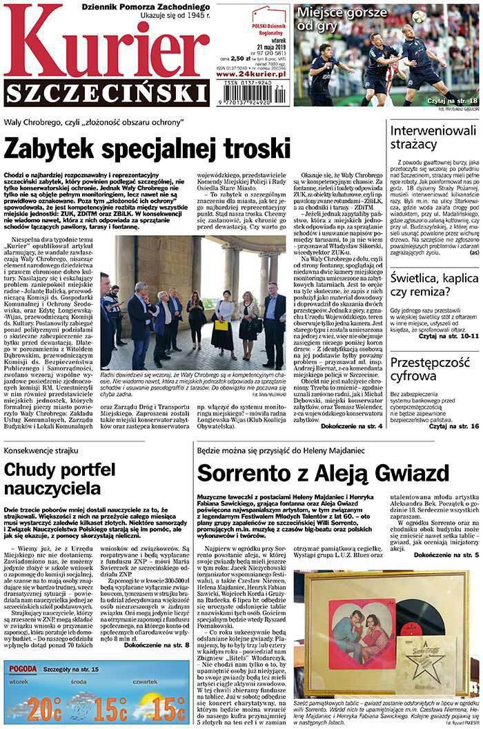 Kurier Szczeciński -                     2019-05-21