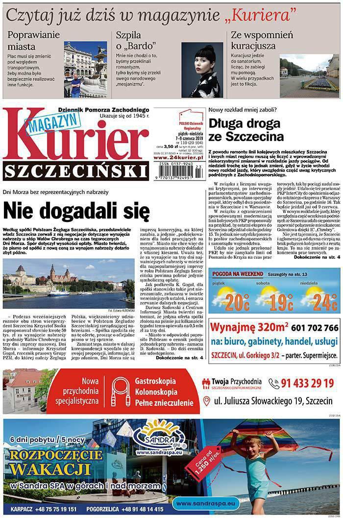 Kurier Szczeciński -                     2019-06-07