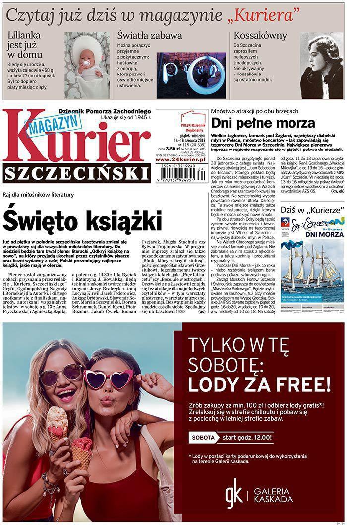Kurier Szczeciński -                     2019-06-14