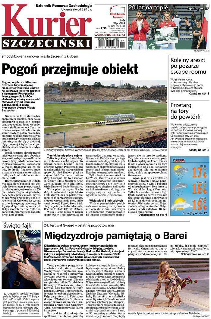 Kurier Szczeciński -                     2019-07-03