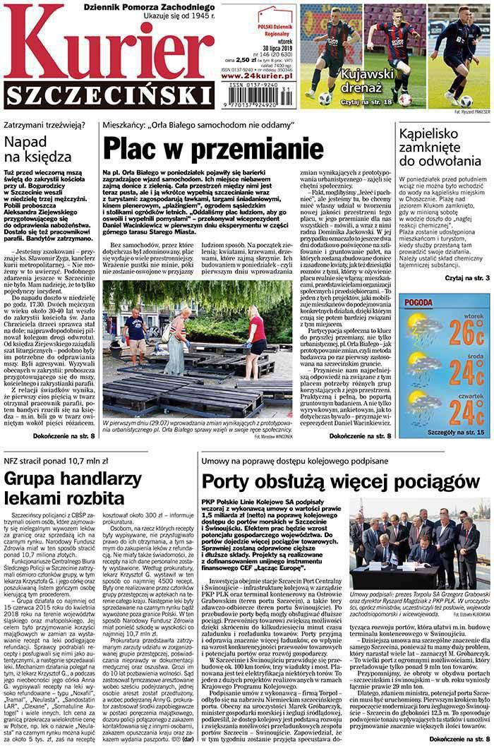 Kurier Szczeciński -                     2019-07-30