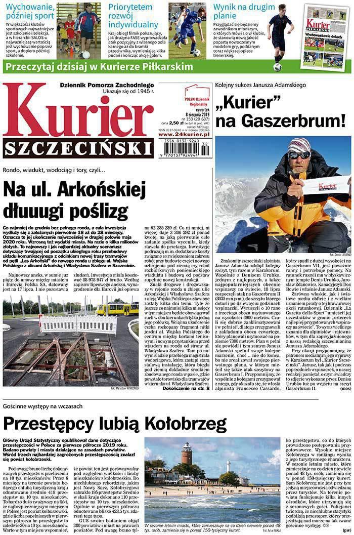 Kurier Szczeciński -                     2019-08-08