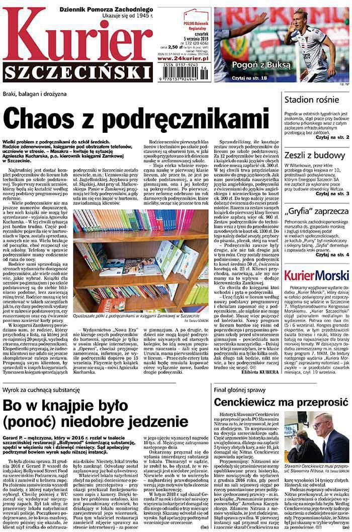 Kurier Szczeciński -                     2019-09-05