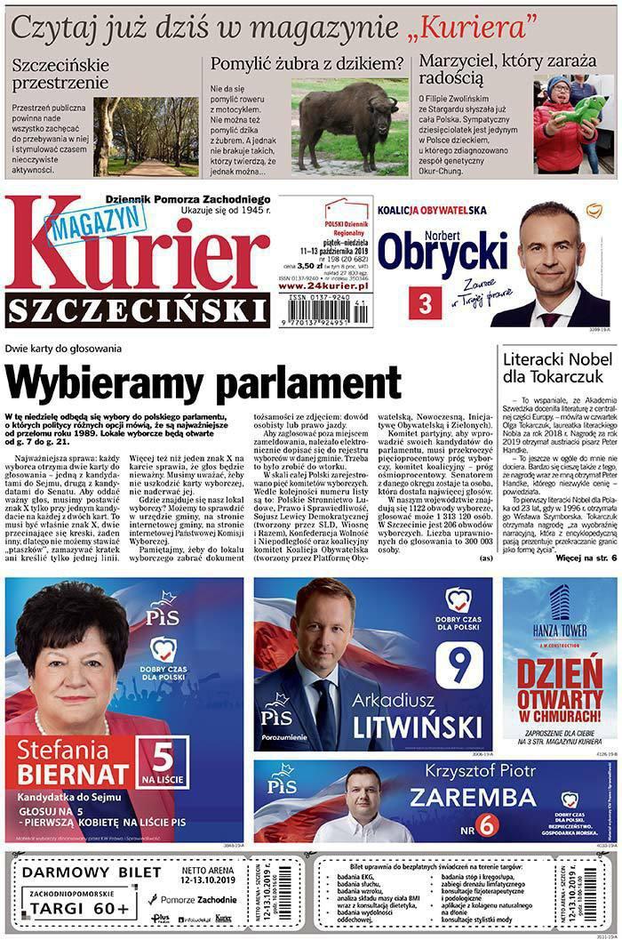 Kurier Szczeciński -                     2019-10-11