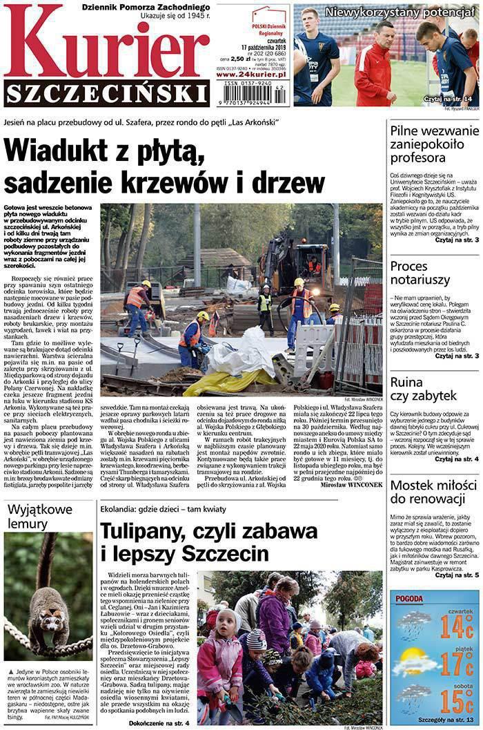 Kurier Szczeciński -                     2019-10-17