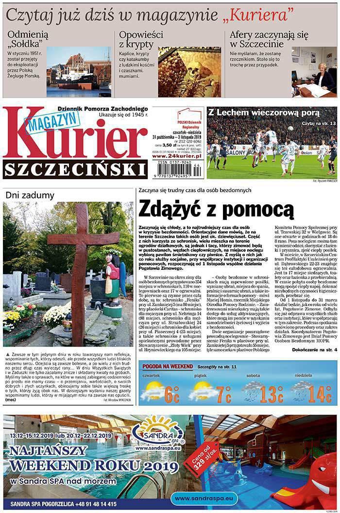 Kurier Szczeciński -                     2019-10-31