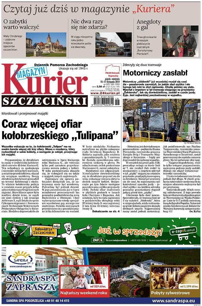 Kurier Szczeciński -                     2019-11-15