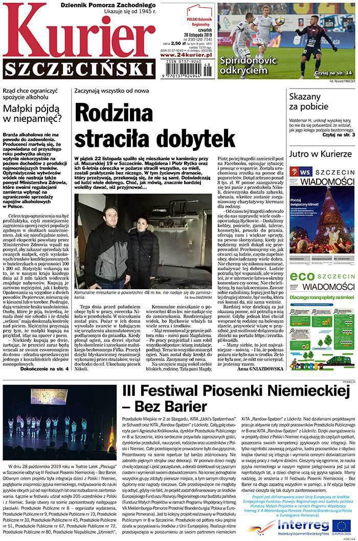 Kurier Szczeciński -                     2019-11-28