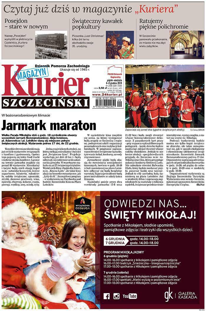 Kurier Szczeciński -                     2019-12-06