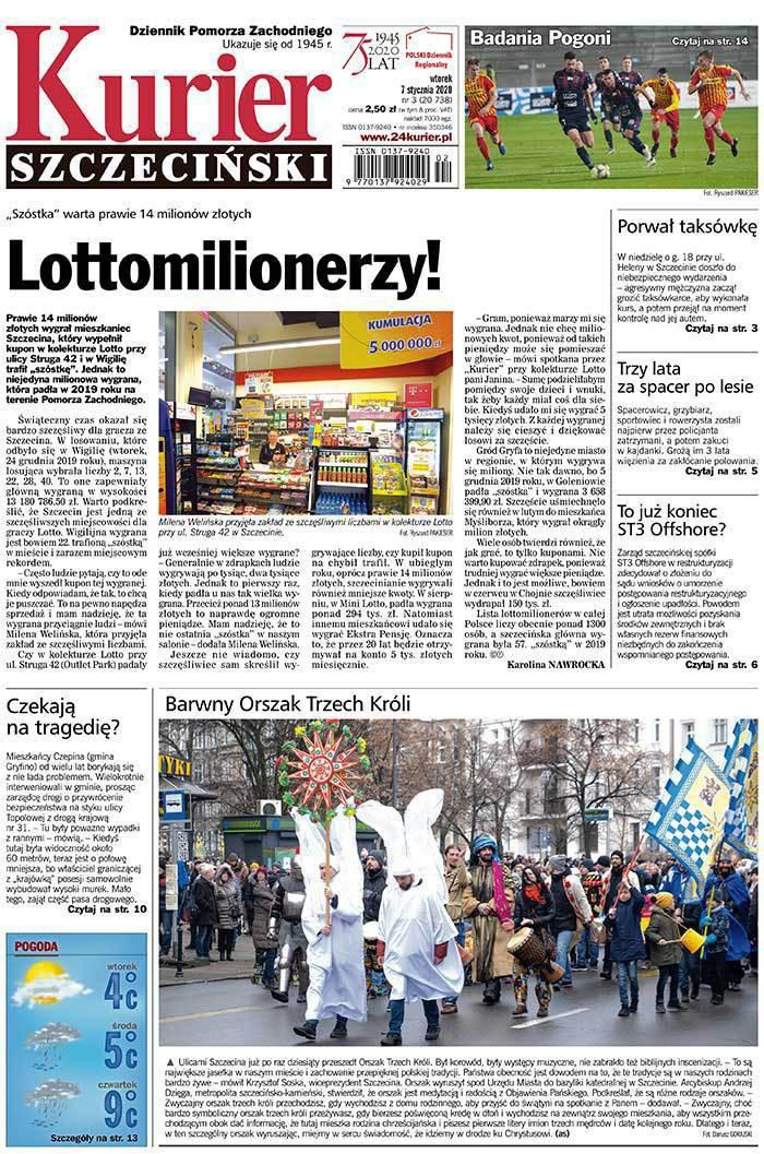 Kurier Szczeciński -                     2020-01-07