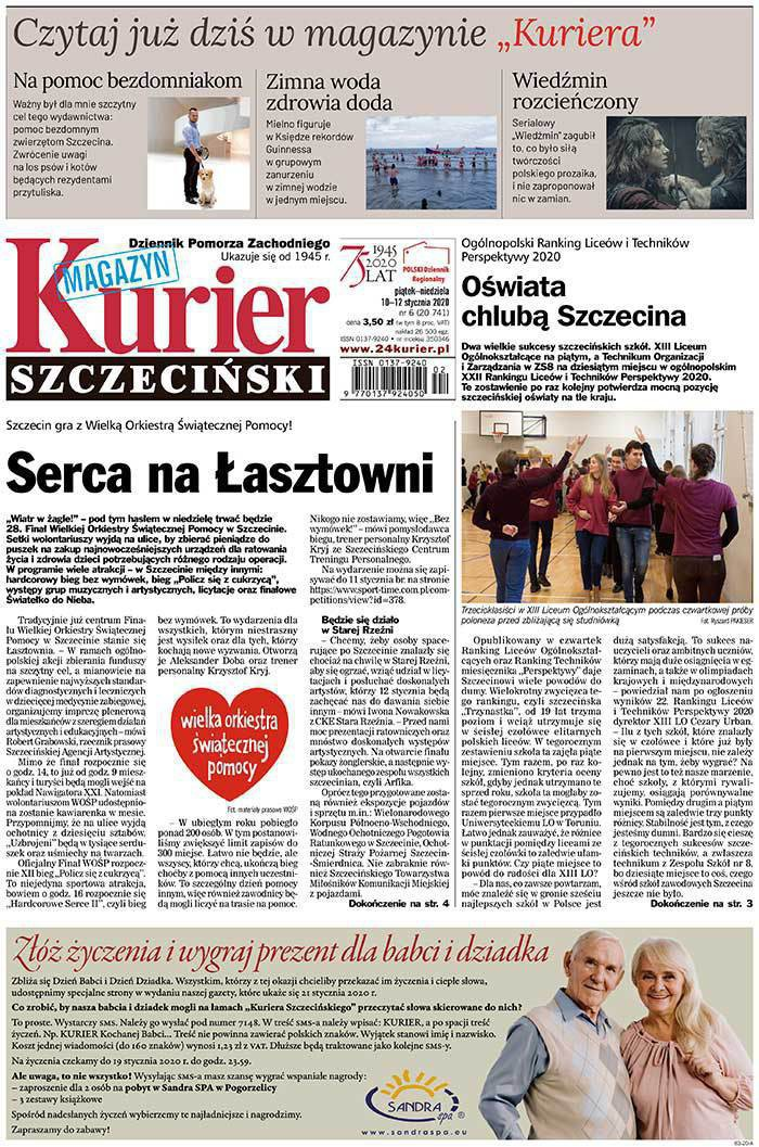Kurier Szczeciński -                     2020-01-10