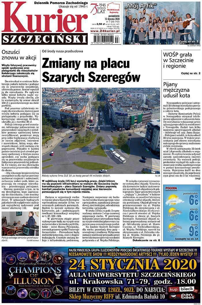 Kurier Szczeciński -                     2020-01-13